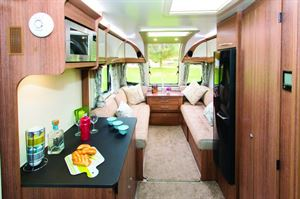 Lots of space for a compact caravan