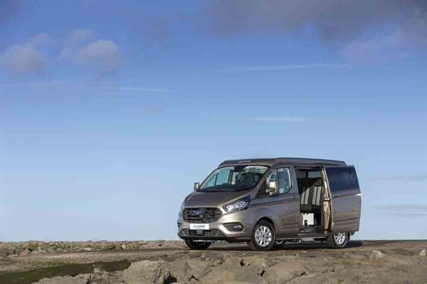 The Lunar Ford Transit Custom Terrier - picture courtesy of Lunar Campers