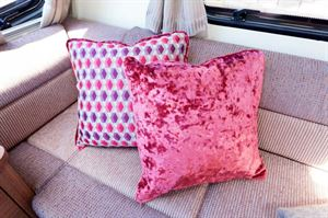 Four gorgeous cushions are part of the Phoenix options pack