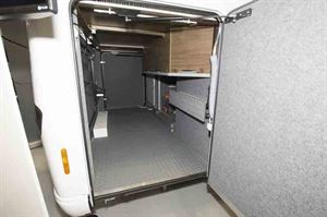 This motorhome has a full-sized rear garage - © Warners Group Publications