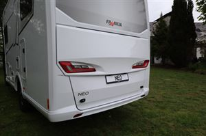 The new boot hatch on the Frankia M-Line Neo