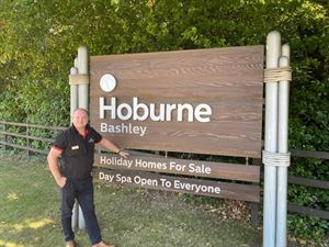 General Manager of Hoburne Bashley, Dave Absalom