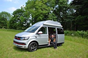 Campervan editor Geneve is looking forward to getting out and about in her new Hillside Birchover Classic