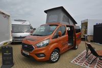 Geoff Cox's new Ford campervan