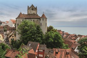 Meersburg Castle and Lake Constance
