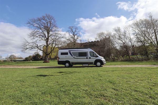 The Globecar Summit Prime 640 campervan