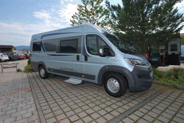 Motorhome review: Globecar Summit 640 high-top campervan - Reviews