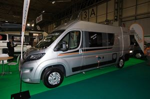 Globecar's new Globescout Plus os based on the Peugeot Boxer © Warners Group Publications, 2019