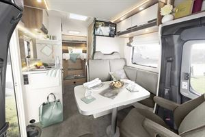 The front lounge in the new Globeline T 6613 EB
