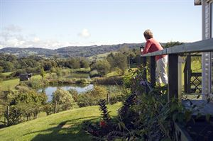 Guests at Wood Farm Holiday Park can enjoy sweeping views of the tranquil Dorset countryside