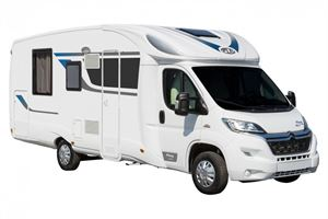 The new HP74 PLA motorhome is being sold exclusively in the UK by Webbs Motorcaravans