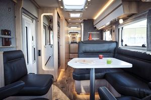The interior of the Hymer B-Class MasterLine