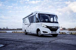 The new Hymer Connect app will initially be available on the B-Class Masterline
