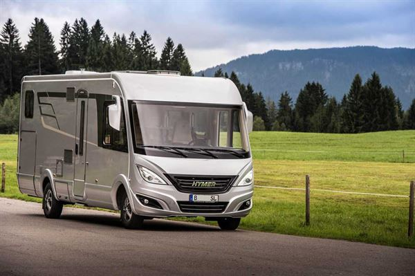 The new Hymer B-Class SupremeLine 674 luxury motorhome
