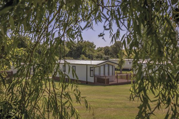 Hawthorn Farm holiday home park, near Dover