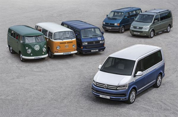 VW campers are celebrating 70 years