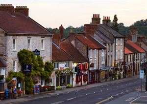 Helmsley has six free overnight parking space for motorhomes
