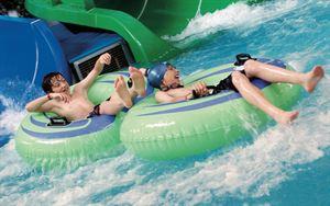 Hendra Holiday Park flume (Photo courtesy of Hendra Holiday Park)