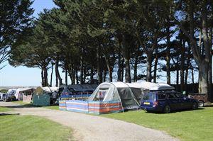 Hendra Holiday Park camping (Photo courtesy of Hendra Holiday Park)