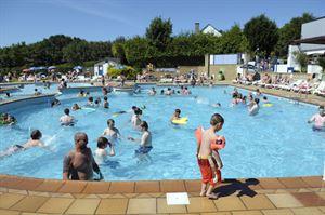 Hendra Holiday Park pool (Photo courtesy of Hendra Holiday Park)