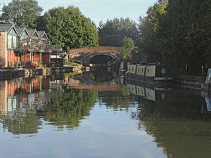 Aylesbury Arm junction of the Grand Union Canal