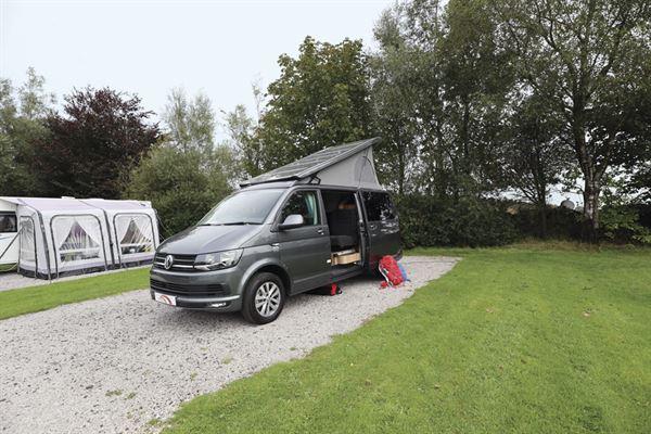 The Hillside Cromford campervan