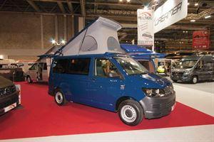 Hillside's new Birchover S VW campervan
