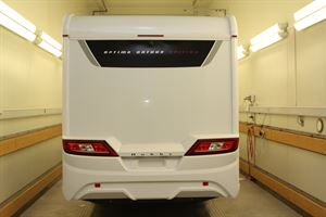 The Hobby Optima Ontour Edition in the cold chamber