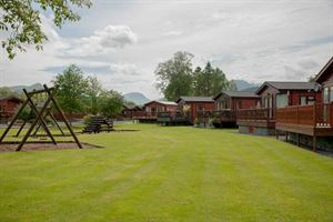 Campsites offer a range of accommodation, including luxury chalets