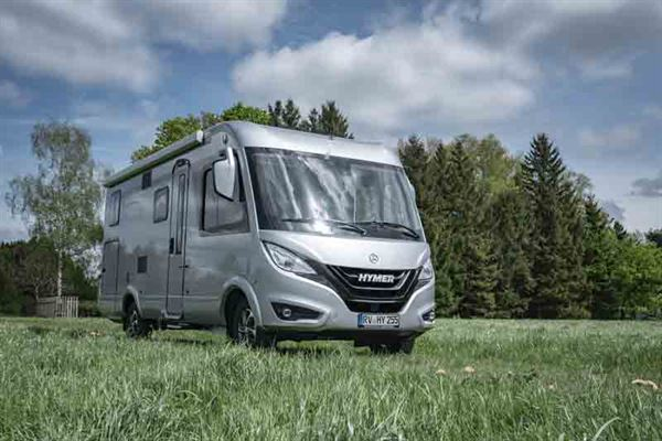The Hymer B-Class MC I 580 motorhome - picture courtesy of Erwin Hymer