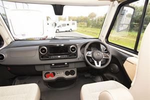 The cab in the Hymer B-MC I 600 WhiteLine