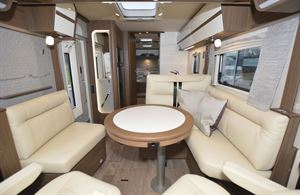 The interior of the Hymer B-ML I 890