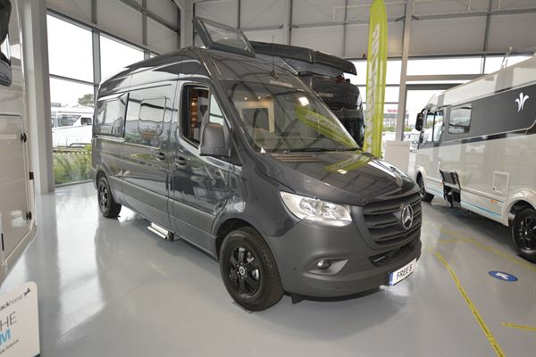 The Hymer Free 600 S campervan
