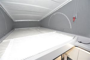 The roofbed in the Hymer Free 600 Campus