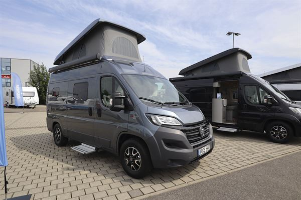Hymer Free campervan