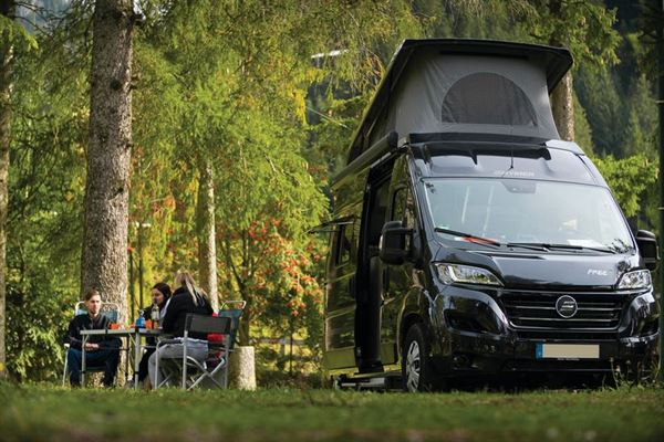 The Hymer Free family campervan - image courtesy of Erwin Hymer Group