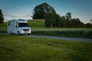 Hymer's T-Class is based on the Mercedes-Benz Sprinter