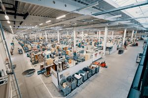 Hymer's production facility in Bad Waldsee, Germany