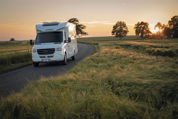 The Hymer T-Class S 695 motorhome