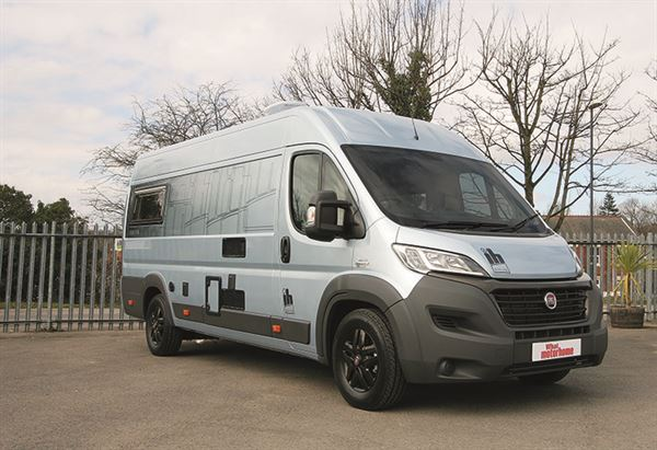 The 630 FB is all based on a Fiat Ducato XLWB