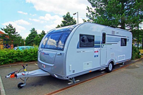 Adria announces its 2019 twin bed Alpina 613 UL Colorado