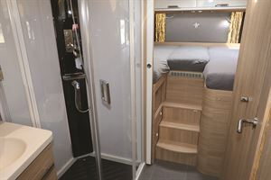 Shower and rear bed