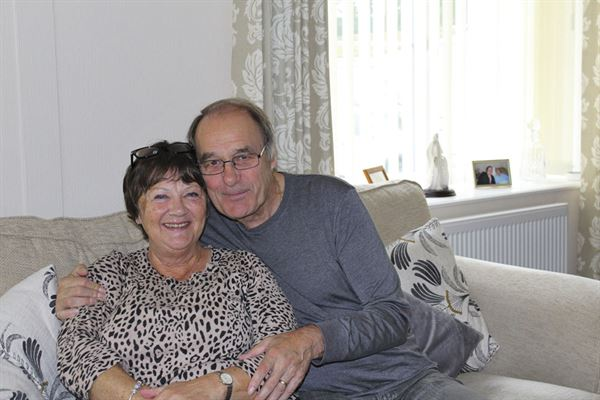Christine and Peter Tranter