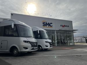 See the latest motorhomes and campervans at SMC's 2022-model launch weekend (photo courtesy SMC Motorhomes)