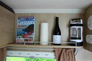 Good shelf space