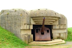Battery at Longues-sur-Mer
