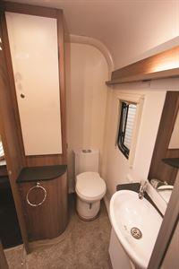 Rear washroom