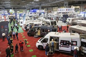 February's Caravan, Camping and Motorhome Show was reported to be a huge success (photo credit: Paul Box)