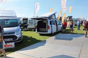 Buying a motorhome at a show is one option when it comes to choosing your next or first model