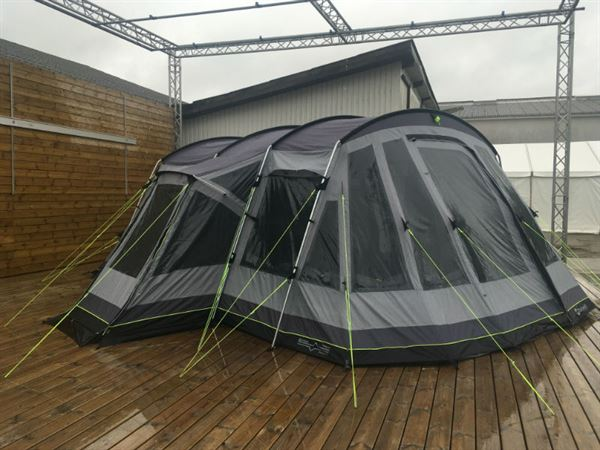 Watch as an Outwell tent undergoes hurricane force wind test